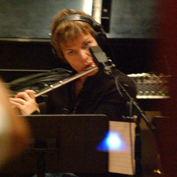 Valerie Gillespie on Flute