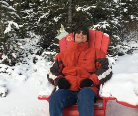 Chillin at Banff