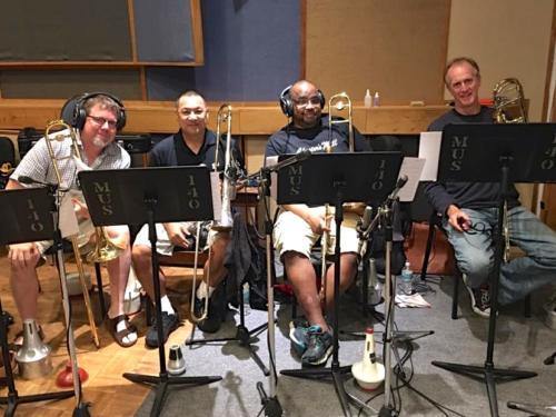 Studio Trombone Section