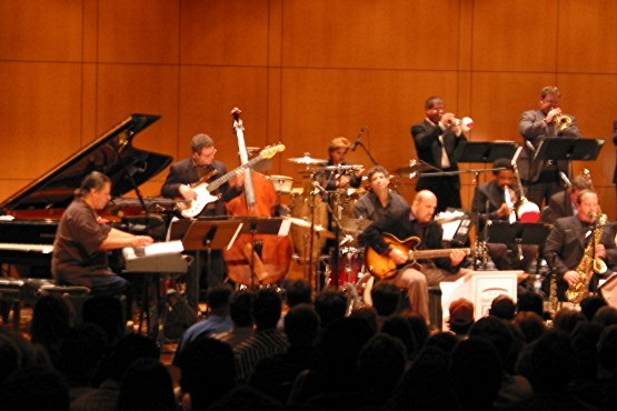 Chick Corea performing with the Jazz Surge